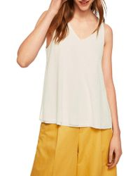 Mango - Double Layer Top - Lyst