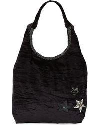 Steve Madden - Embellished Hobo Bag - Lyst