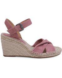Splendid - Fairfax Suede Espadrille Wedge Sandals - Lyst
