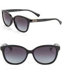 Ralph Lauren - 56mm Wayfarer Sunglasses - Lyst