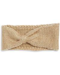Wooden Ships - Knit Wool-blend Bow Headband - Lyst
