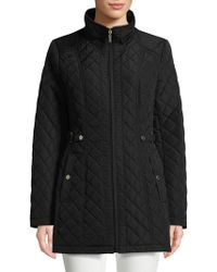 Gallery - Full-zip Quilted Jacket - Lyst