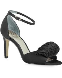 Adrianna Papell - Gracie Satin Ankle-strap Sandals - Lyst