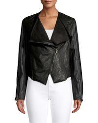 Blank NYC - Venom Faux Leather Jacket - Lyst