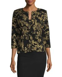 Alex Evenings - Two-piece Brocade Jacket And Tank Top - Lyst
