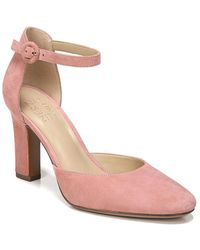 Naturalizer - Gianna Leather Ankle-strap Court Shoes - Lyst