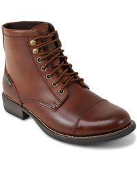 Eastland - High Fidelity Cap Toe Boots - Lyst