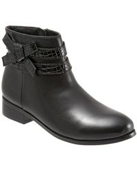 Trotters - Luxury Leather Booties - Lyst