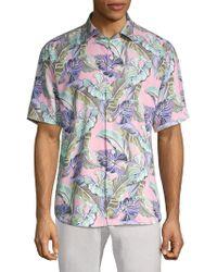 Tommy Bahama - Tropical Short Sleeve Shirt - Lyst