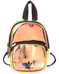 adidas - Mini Metallic Backpack - Lyst