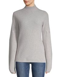 Lord & Taylor - Long-sleeve Cashmere Sweater - Lyst