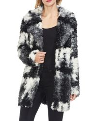 Two By Vince Camuto - Gilded Rose Colorblock Faux Fur Jacket - Lyst