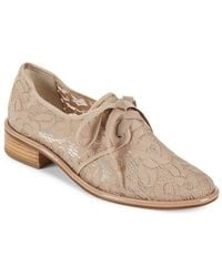 Adrianna Papell - Paisley Floral Lace Oxfords - Lyst