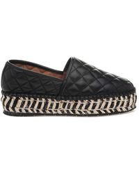 J/Slides - Renata Leather Espadrilles - Lyst