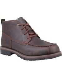 Timberland - Grantly Moc Toe Chukka Boots - Lyst