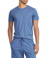 3df9e036 Nautica Herringbone Comfort Cotton Pajama Shirt in Blue for Men - Save 33%  - Lyst