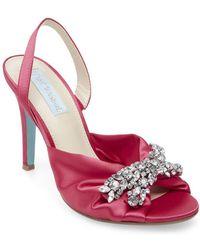 Betsey Johnson - Briel Slingback Court Shoes - Lyst
