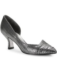 Adrianna Papell - Harriet Pleated D Orsay Court Shoes - Lyst