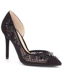 Jessica Simpson - Leighah 3d Floral Court Shoes - Lyst