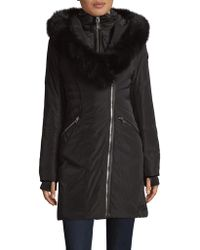 Rudsak - Hooded Down-fill Fox Fur Trimmed Coat - Lyst
