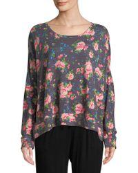 Honeydew Intimates - Floral Sweatshirt - Lyst