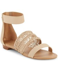 Tahari - Dorm Ankle Strap Sandals - Lyst