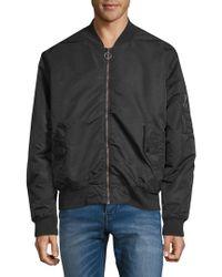 Hudson Jeans - Oversize Bomber Jacket - Lyst