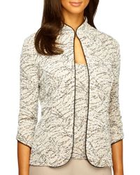 Alex Evenings - Plus Two-piece Embellished Jacquard Jacket And Tank Top Set - Lyst