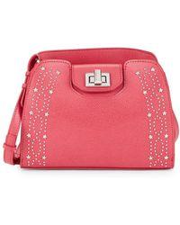 Calvin Klein - Clementine Star-studded Crossbody Bag - Lyst
