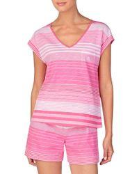 Lauren by Ralph Lauren - 2-piece Boxer Pyjama Set - Lyst