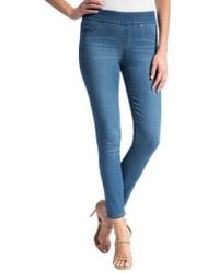 Liverpool Jeans - Sienna Pull-on Ankle Jeans - Lyst