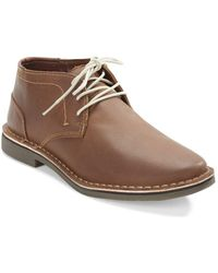 Kenneth Cole Reaction - Desert Leather Chukka Boots - Lyst