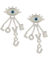 BCBGeneration - Affirmation Evil Eye Earring - Lyst