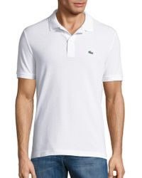 Lacoste - Slim Fit Short-sleeve Cotton Polo - Lyst
