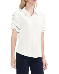 Vince Camuto - Sapphire Bloom Button-down Shirt - Lyst