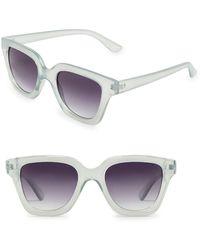 Mango - Square Sunglasses - Lyst