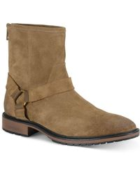 Marc New York - Moore Suede Moto Boots - Lyst