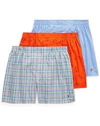 Polo Ralph Lauren 3-pack Classic-fit Cotton Boxer Shorts