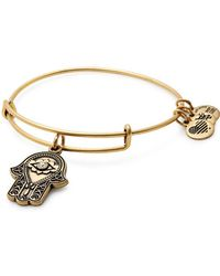 ALEX AND ANI - Path Of Symbols Hand Of Fatima Charm Bracelet - Lyst