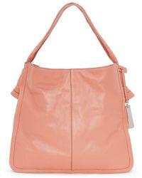 Vince Camuto - Tilde Leather Hobo Bag - Lyst
