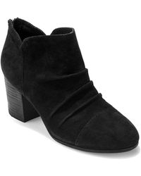 Me Too - Sierra Suede Booties - Lyst