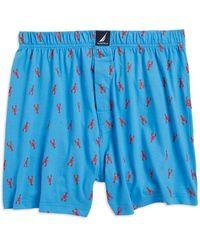 Nautica - Plaid Cotton Boxer Shorts - Lyst