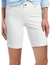 Hue - Cuffed Essential Denim Shorts - Lyst