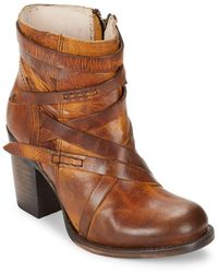 Freebird by Steven - Round Toe Ankle Boots - Lyst