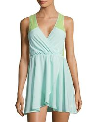 Betsey Johnson - Floral Lace Mini Chemise - Lyst