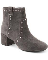 63a095ce7d5a Kensie Garrett Ankle Boots in Brown - Lyst