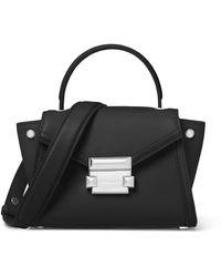 MICHAEL Michael Kors - Whitney Mini Leather Messenger Bag - Lyst