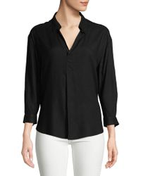 Lord & Taylor - Plus Pullover Blouse - Lyst