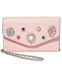 Steve Madden - Crown Embellished Convertible Envelope Clutch - Lyst