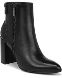 Fergie - Enigma Leather Booties - Lyst